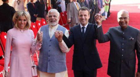 India, France relationship 'historic': Macron