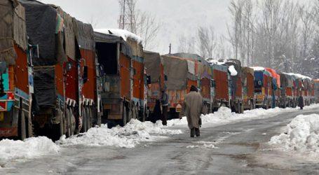 Fresh snowfall forces closure of Mughal road