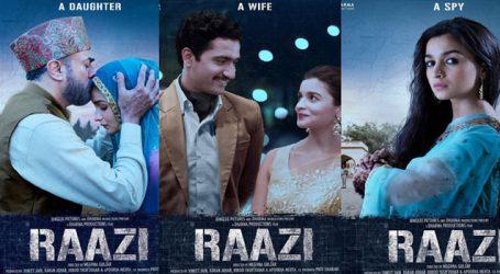 Meghna Gulzar releases teaser of her film 'Raazi'