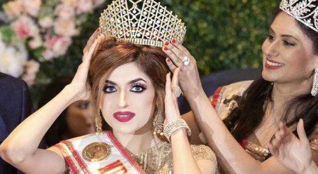Celebrity make-up artist & entrepreneur, Urvashi Salaria Chawla wins Mrs India UK pageant in London
