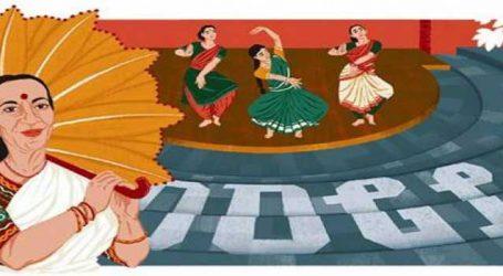 Google pays tribute to bharatanatyam dancer Mrinalini Sarabhai on her 100th birth anniversary