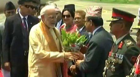 PM Modi on two-days Nepal visit