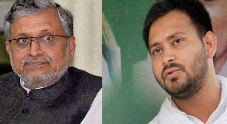 Sushil Kumar Modi asks Tejaswi how he became owner of Tata's property in Patna