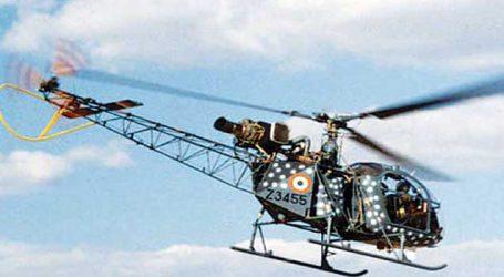 IAF's Cheetah chopper crashes in J&K
