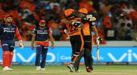 Despite Pant's 128, Delhi Daredevils lose to Hyderabad