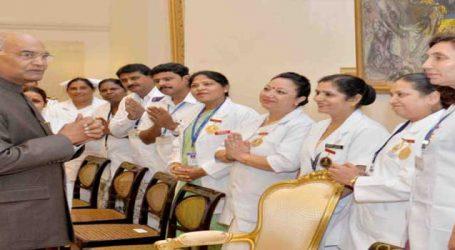Need for nursing is growing, says Kovind on International Nurses Day
