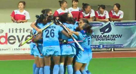Asian Champions Trophy: Indian women's hockey team beat China