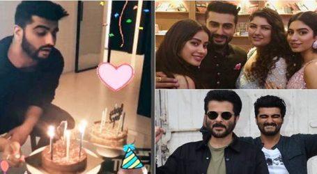 Janhvi, Khushi & Sonam Kapoor wish Arjun kapoor on his birthday