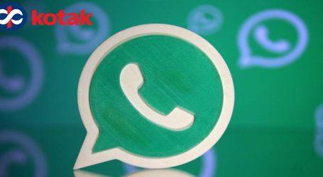Kotak Mahindra Bank pilots banking services on WhatsApp