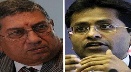 Lalit Modi & N Srinivasan fined for violating laws in organising IPL 2