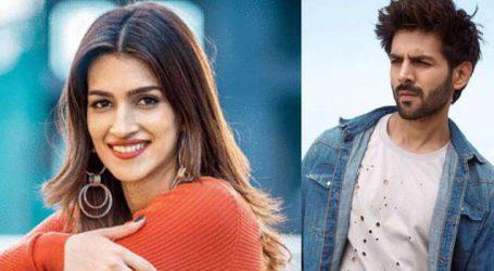 Kartik Aaryan, Kriti Sanon begin preps for 'Luka Chuppi'