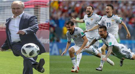 Russia defeated Spain by 4-3, Putin congratulates Russia