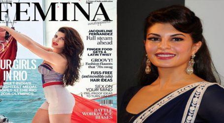 Jacqueline exudes success glow on cover of Femina