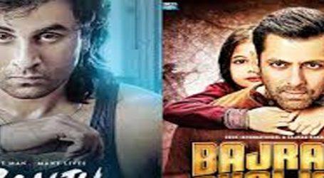 'Sanju' beats 'Bajrangi Bhaijaan' to be 4th highest grosser of Bollywood