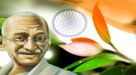 Prez launches logo & web portal for commemoration of Mahatma Gandhi's 150th birth anniv