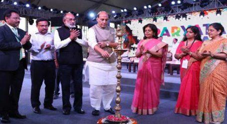 Rajnath inaugurates 12-day tourism festival at Rajpath near India Gate