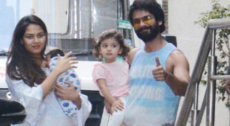 Shahid Kapoor & wife Mira name their son Zain Kapoor