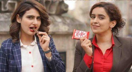 'Dangal' girls Fatima, Sanya become brand ambassadors for 'Kitkat'