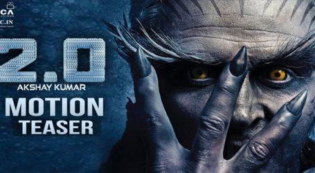 Akshay Kumar announces 2.0 trailer release date on Twitter