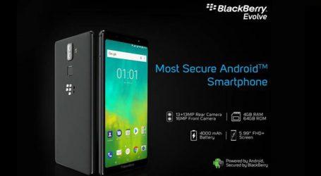 Blackberry Evolve to make debut on Oct 10
