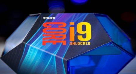 Intel officially unveils 9th gen desktop CPU lineup