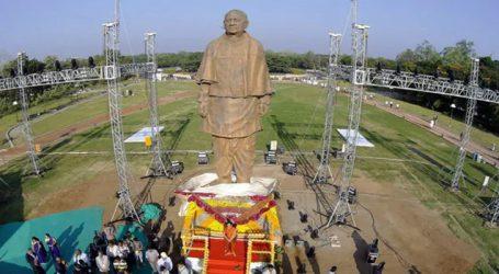 Sardar Patel birth anniversary : Amid protests and criticism, PM Modi unveils 'Statue of Unity'