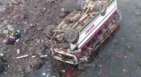 Bus falls into river in Himachal Pradesh, 9 Dead, 51 Injured