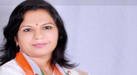Congress leader Asha Patel resigned