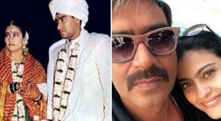 Ajay Devgn and Kajol Celebrate 20th Marriage Anniversary