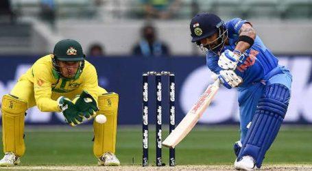 India v Australia first T20