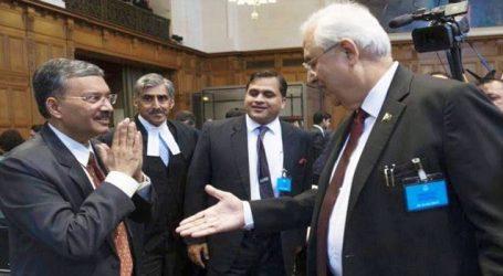 India rejects handshake to Pak  did 'Namaste' at Kulbhushan Jadhav Hearing