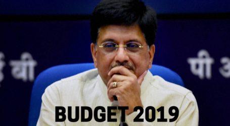 Piyush Goyal  speech for Budget 2019