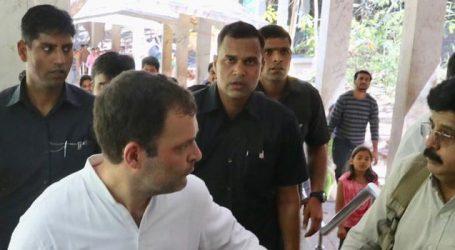 Rahul Gandhi Treks 10 Kilometres to offer prayers to Andhra's Tirumala Temple