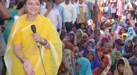 Priyadarshini become new raje rising in Scindia family in Guna Lok Sabha Election in absence of Jyotiraditya