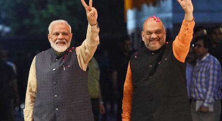 Narendra Modi come as a Tsunamo for all other political parties in India