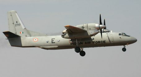 No clue of missing IAF An-32 aircraft after 12 hours, Search operations still continue