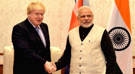 PM Modi congratulates Boris Jognson on becoming Britain's new Prime Minister