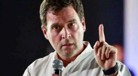 Rahul Gandhi Slams Pak over Violence and spreading terror in Kashmir, says J&K internal matter of India