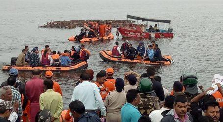 At list 11 dead  during boat capsizes in Ganpati Visarjan in Bhopal